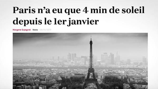 """Ritals e i 4 minuti di sole nel 2019 a Parigi: """"Ma qui i mezzi funzionano benissimo"""""""