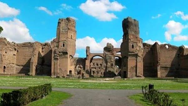 """""""Io vado al Museo"""", ingressi gratuiti alle Terme di Caracalla"""