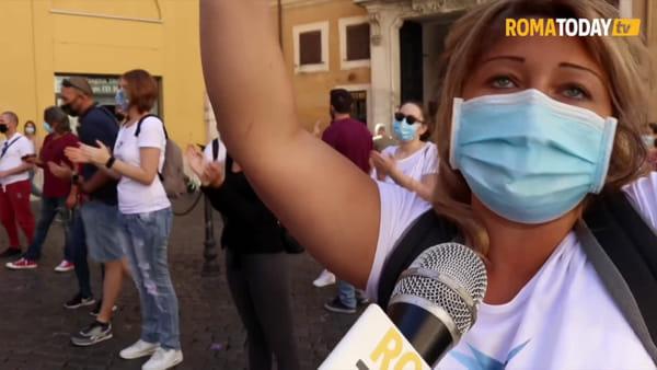 Con la crisi Covid negli aeroporti non servono più: i lavoratori stagionali protestano a Montecitorio
