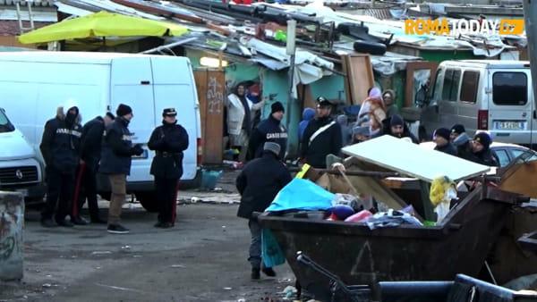 VIDEO | Baraccopoli Salviati, blitz all'alba dei carabinieri: arresti e sequestri per traffico illecito di rifiuti