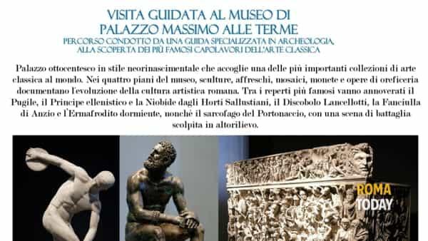 Visita guidata Museo di Palazzo Massimo alle Terme