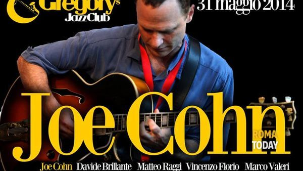 Joe Cohn 5tet al Gregory's Jazz Club Sabato 31 maggio 2014