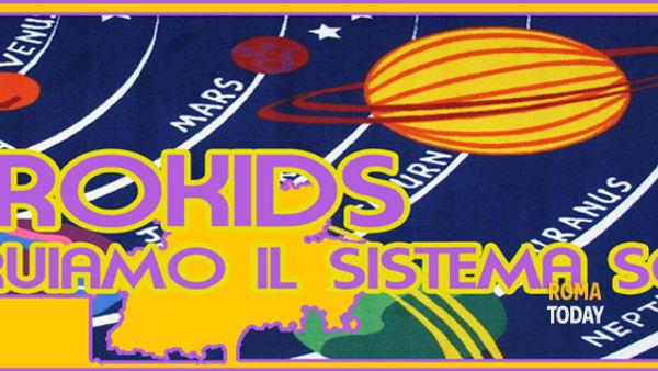 """AstroKids Nights all' Osservatorio Astronomico: """"Costruiamo il sistema solare!"""""""