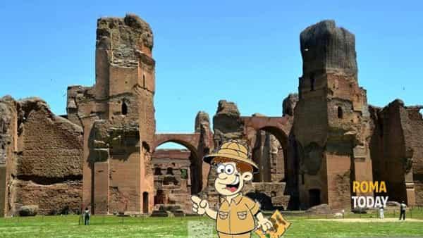 Alla Scoperta delle Terme di Caracalla, visita guidata e attività didattica con bambini