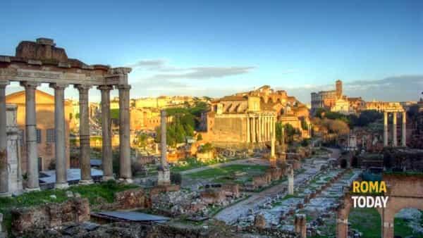 Foro romano e palatino con pic-nic (gita nelle mura di roma)