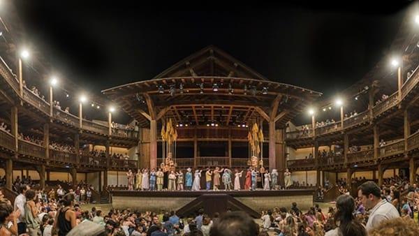 Sonetti d'amore di Shakespeare al Globe Theatre