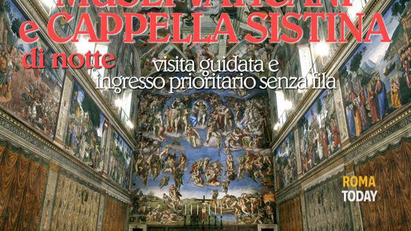 I Musei Vaticani e la Cappella Sistina di notte, visita guidata senza fila 30 maggio 2014