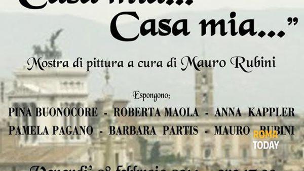 """""""Casa mia… Casa mia…"""": mostra in piazza del Campidoglio"""