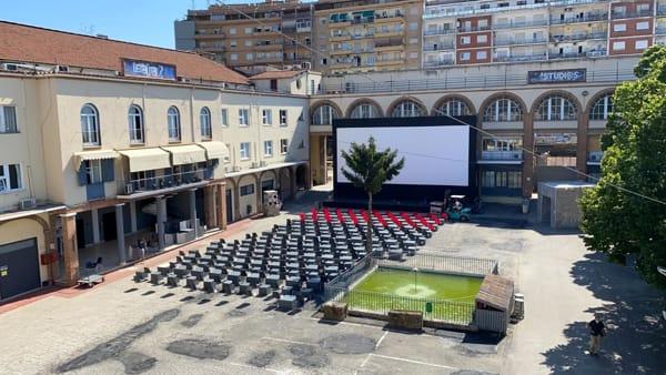 L'Arena Adriano Studios: proiezioni all'aperto, eventi e appuntamenti nell'estate romana