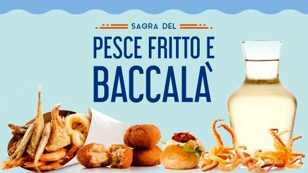 La Sagra del Pesce fritto e Baccalà ti aspetta dall'11 al 13 ottobre da Eataly Roma