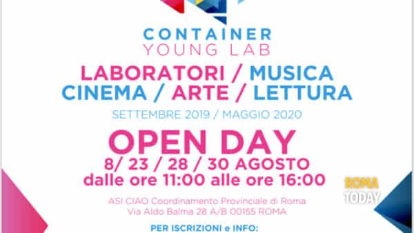 Al via Container Young Lab: numerose iniziative gratuite che strizzano l'occhio a cinema, musica e fumetti