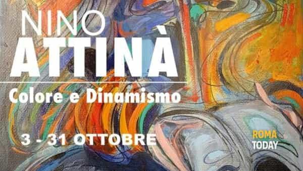Colore e dinamismo - Mostra di Nino Attinà
