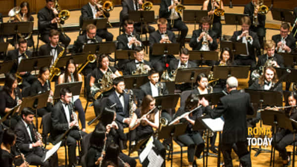 Berkeley Wind Ensemble in concerto alla Sapienza