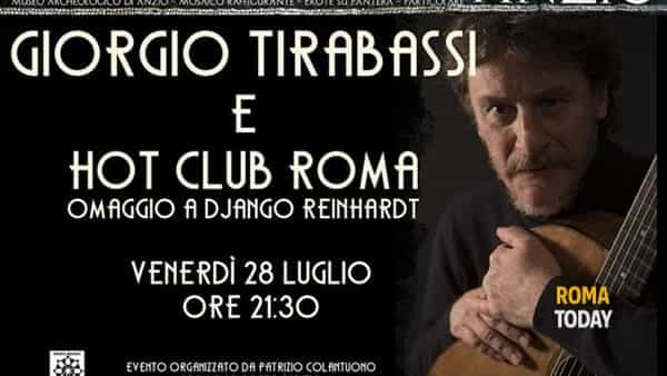 Giorgio Tirabassi & Hot Club Roma - Omaggio a Django Reinhardt