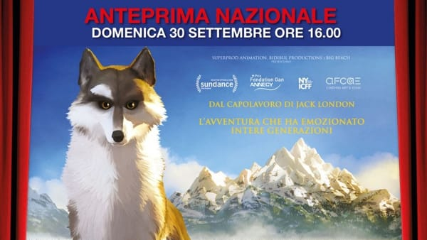 A Cinecittà World l'anteprima italiana di Zanna Bianca
