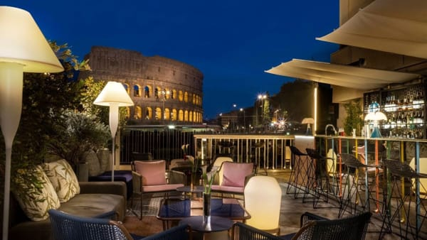 The Court, nasce un nuovo cocktail bar con vista mozzafiato sul Colosseo