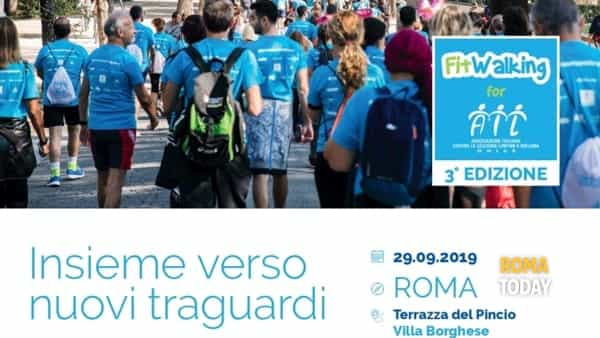 Fitwalking for Ail: insieme verso nuovi traguardi