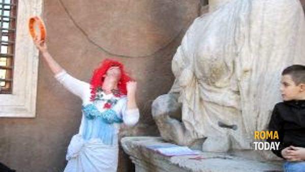 Pasquino e le Statue Parlanti, visita guidata con teatro itinerante 31 maggio 2014