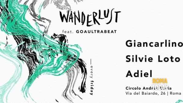 Wanderlust e Goa Ultrabeat al Circolo Andrea Doria