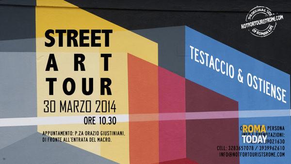 Street Art Tour Testaccio & Ostiense