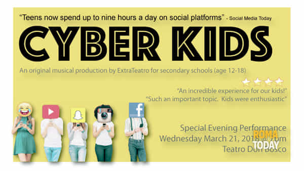 Cyber Kids - Spettacolo Musicale in Inglese