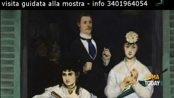 """Visita guidata alla mostra """"Impressionisti tête à tête"""" al Complesso del Vittoriano"""