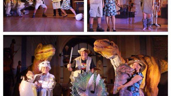 Dinosaur show: T-Rex e Velociraptor a Roma