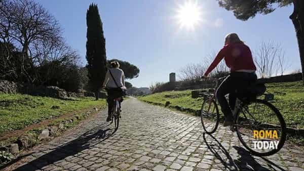 Visita guidata in bicicletta della Via Appia Antica