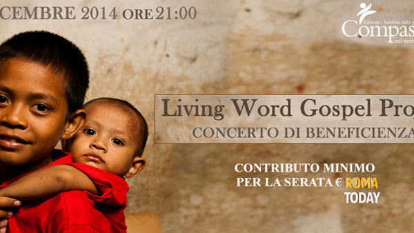 30 dicembre, concerto di beneficenza gospel