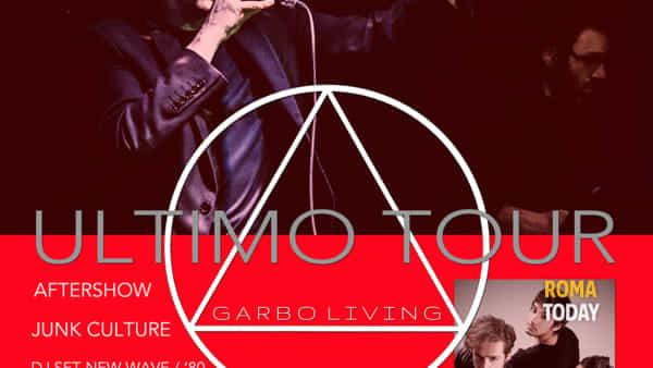 Garbo - UltimoTour @Traffic