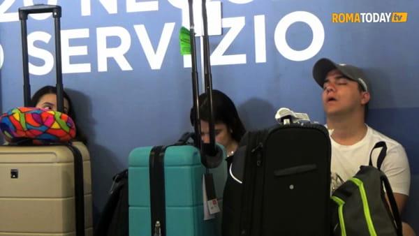VIDEO | Fermi i treni dell'alta velocità, caos a Termini: ritardi fino a 180 minuti