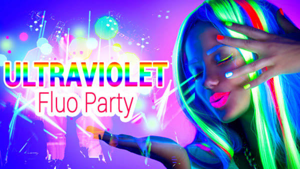 Ultraviolet Fluo Party a Rainbow MagicLand