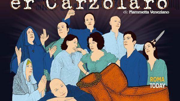 Grispino Er Carzolaro di scena al Teatro Anfitrione