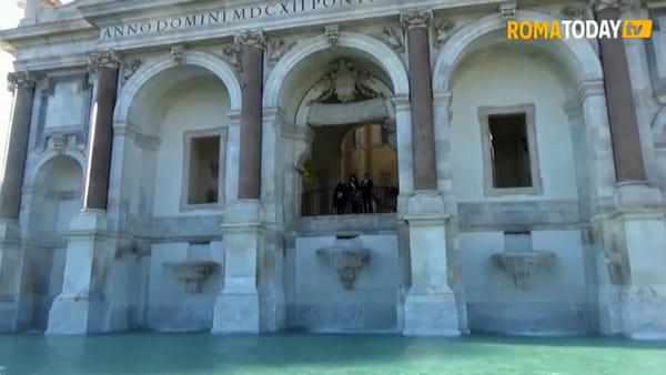 VIDEO | Fendi riaccende la Grande Bellezza di Roma con il restauro della fontana dell'Acqua Paola