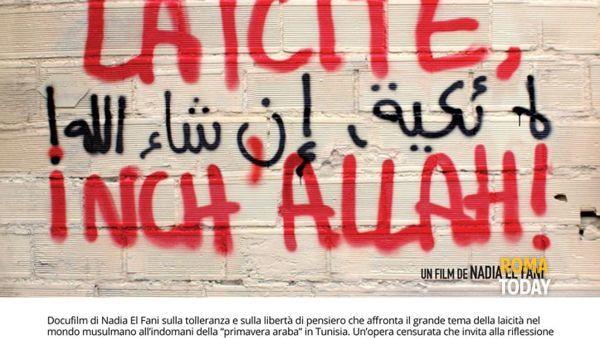 """Proiezione film """"Laicité Inch'Allah"""" presso la sala del Carroccio in Campidoglio"""