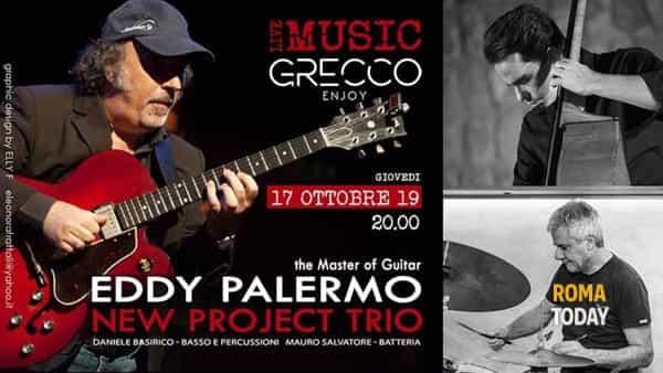 Eddy Palermo New Project Trio - Live Music