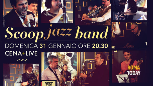 Scoop Jazz Band + Storytelling @ Rest Art Rome