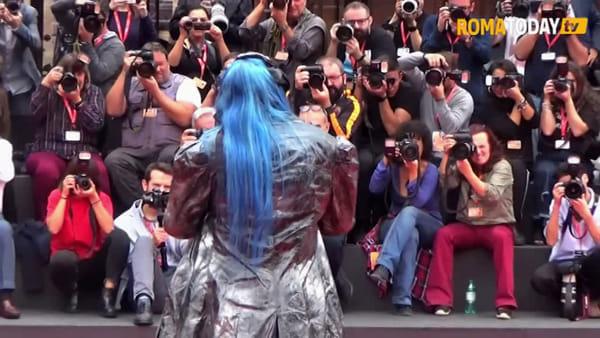 VIDEO | Alla Festa del cinema di Roma arriva La Famiglia Addams, al debutto come doppiatrice la Bertè