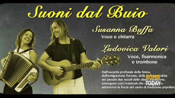 """""""Suoni dal buio"""", Susanna Buffa e Ludovica Valori in concerto"""