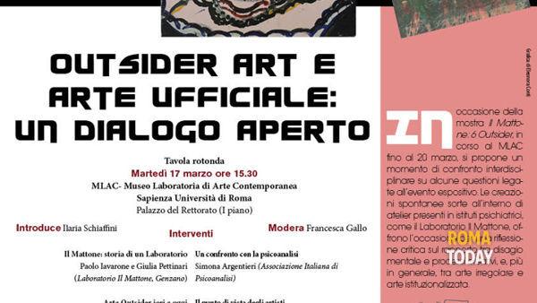 Outsider Art e arte ufficiale: un dialogo aperto