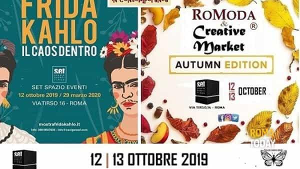 RoModa & Creative Market e Frida Kahlo: moda e arte a Spazio Tirso