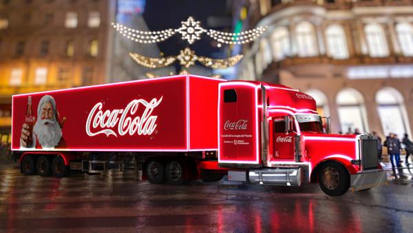 Coca-Cola Christmas Village: l'iconico truck rosso si ferma a Roma