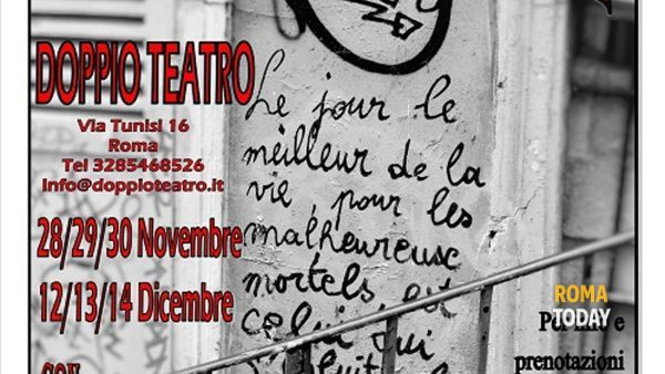 """""""Chimera"""", di Simon Marchetti. Dal 28 al 30 novembre al Doppio Teatro"""