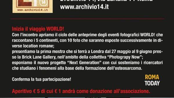 World! Scatti dal Mondo per ricordare Simone Tetti