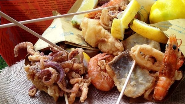 Festival del cibo di strada a Centocelle