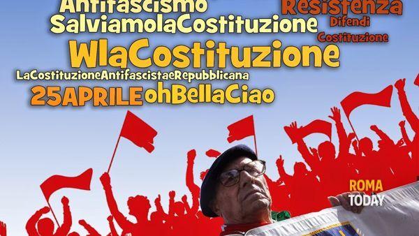 25 aprile: torna il corteo dei partigiani dal Colosseo a Porta San Paolo