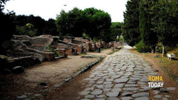 Gli scavi di Ostia Antica visita guidata per bambini 23 marzo 2014