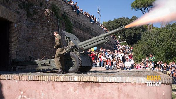 Il Gianicolo e lo sparo del cannone di mezzogiorno, visita guidata