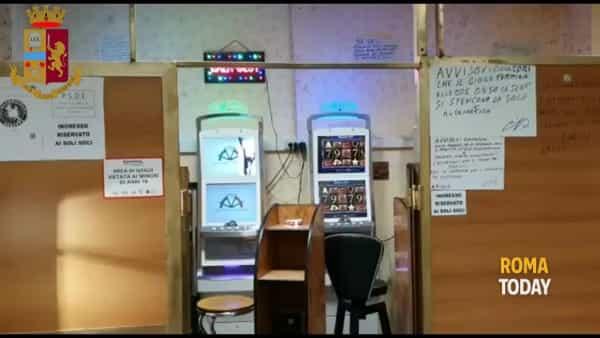 VIDEO | Slot machine abusive, cibi scaduti e cucine sporche: chiesta chiusura di un locale a Magliana
