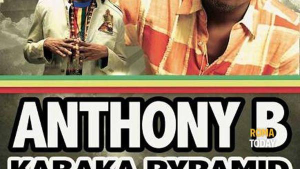 Il guru del reggae mondiale Anthony B dal vivo all'Intifada